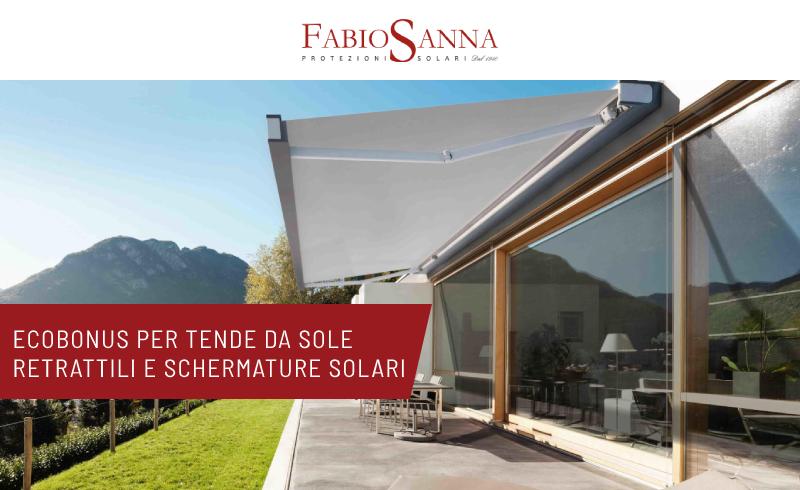 ecobonus per tende da sole retrattili e schermature solari